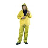 Costum impermeabil PVC/PE/PVC galben