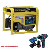 Generator GG 2900 + GSR 10.8-2-LI/2x2.0Ah/Lboxx Pachet promotional