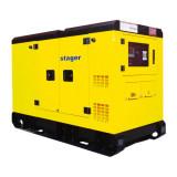 Generator insonorizat diesel trifazat 62kVA, Stager YDY70S3