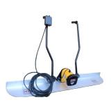 Grinda vibranta cu motor electric QXE ENAR, lungime profil 3m, alimentare 220V