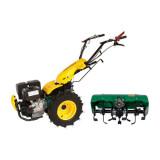 Motocultor multifunctional ProGarden BT330 9 CP cu freza tractata latime 65 cm