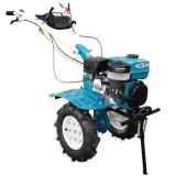 Pachet Motocultor profesional DKD HS 1100D, 13 CP, roti cauciuc, freze reglabile 90-120 cm, roti metal, plug cartofi, rarita fixa + necesar ulei