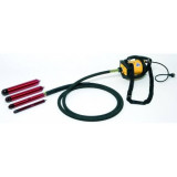 Vibrator beton DINGO ENAR cu ax flexibil de 4m si cap vibrare 38/48/58mm, tensiune de alimentare 220V