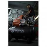 Compresor 24L Daewoo 2 CP 195L/min 8 Bar - DAAC24D