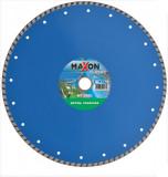 Disc diamantat de taiere continuu, 350x30-25.4x3.2 mm, taiere umeda si uscata, Maxon - MT350C
