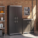 Dulap inalt negru Keter XL Garage 89x54x188 cm