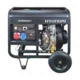 Generator de curent trifazat cu motor diesel HYUNDAI DHY8500LEK-T