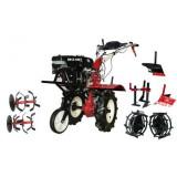 Motocultor DKD SR1Z-100-pinioane Roti Metalice, Rarita Reglabila, Plug Arat, Prasitoare