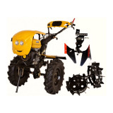 Motosapa Progarden HS1100-16, roti 600x12, pachet cu roti metalice si plug reversibil
