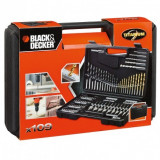 Set de accesorii Black+Decker cu 109 piese - A7200