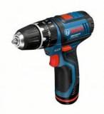 Surubelnita cu acumulator Bosch GSB 10,8-2-LI + GLIL-BOXX