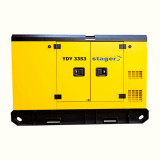 Generator insonorizat Stager YDY33S3, silent 1500rpm, diesel, trifazat