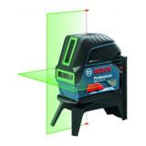 Nivela laser cu puncte si linii, 15m, precizie 0.3 mm/m Bosch GCL 2-15G + RM1