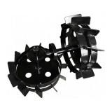 Set roti metalice, 50 cm, pentru motocultor, Rotakt