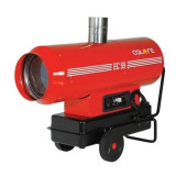 Tun de caldura cu ardere indirecta Calore EC 55, 58.6 kW, debit aer 2975 m3/h, combustibil motorina, 230 V