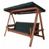 Balansoar pentru gradina din lemn masiv HECHT BAHARU LUX