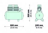 Compresor Fiac medical tip AIRMED 135/24