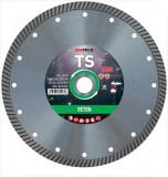 Disc diamantat de taiere continuu, 230x22.2x2.5 mm, taiere uscata, Diatech - TS230