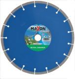 Disc diamantat de taiere segmentat, 300x30-25.4x2.7 mm, taiere umeda si uscata, Maxon - MSZ300C