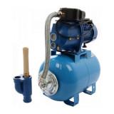 Hidrofor cap pompa fonta - cu ejector - 24l - 800-3d - 800W