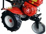 Motocultor Rotakt RO75 (ROG75) pachet plug arat, bilonat, cartofi si roti metalice