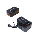 Set Redback powerpack 2 acumulatori Li-Ion EA20 120V/2Ah + incarcator EC130 120V/1A
