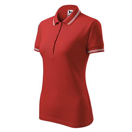 Tricou POLO Personalizat Rosu M - dama