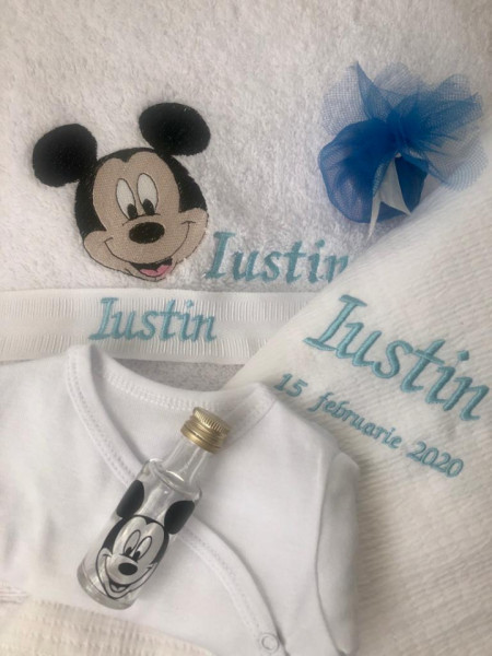 Trusou BOTEZ Mickey Mouse personalizat pentru baietel