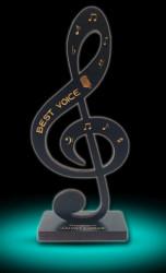 Statuetă Cheia Sol BEST VOICE