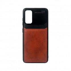 Carcasa Samsung S20 Maro - Piele PU