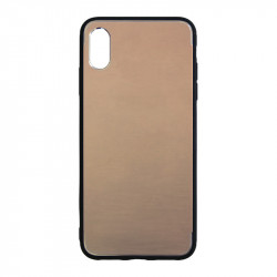 Carcasa iPhone XS Gold