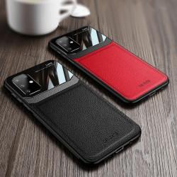 Carcasa Samsung S20 Negru - Piele PU