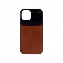 Carcasa iPhone 12 / 12 Pro Maro - Piele PU
