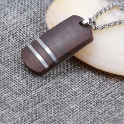 Medalion Wooden Tag