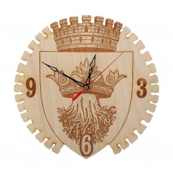 Ceas stemă Brașov