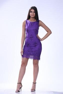 Svecna haljina - ljubicasta