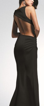 Crna duga haljina