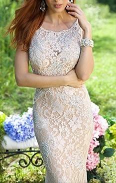 Duga bez cipkasta haljina