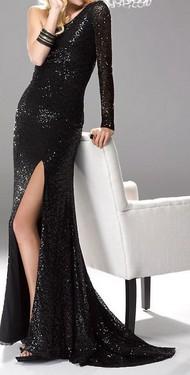 Sljokicava duga haljina