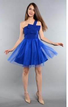 Haljina za maturu plava sa masnom
