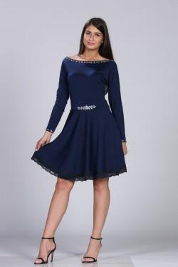 Teget haljina sa cirkonima