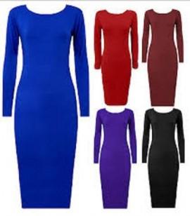 Dnevna haljinica kraljevsko plava