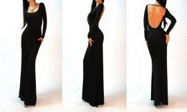 Duga maturska haljina sa golim ledjima