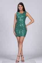 Zelena haljina za maturu