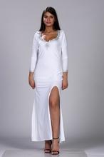 Bela duga haljina za maturu