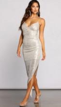 Svecana haljina na preklop