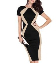 Crna haljina sa neobicnim bez detaljima