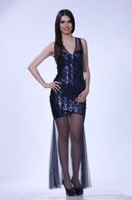 Teget svecana haljina