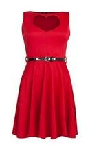 Crveno srce haljina