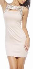 Bela haljina sa cirkonima
